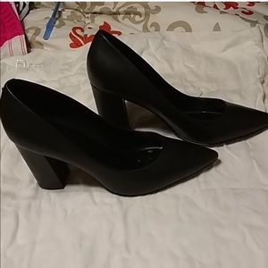 marc fisher claire block heel pumps